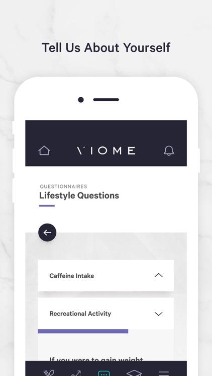 Viome screenshot-3