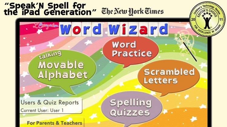 Word Wizard for Kids screenshot-0