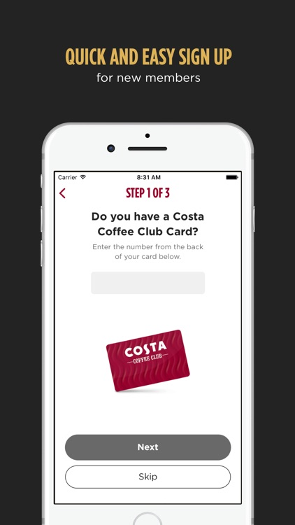 Costa Coffee Club screenshot-3