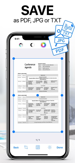 Iscanner Pdf Document Scan On The App Store