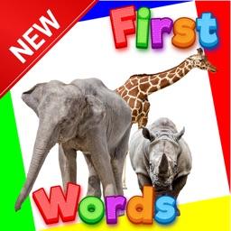 Baby first words animals