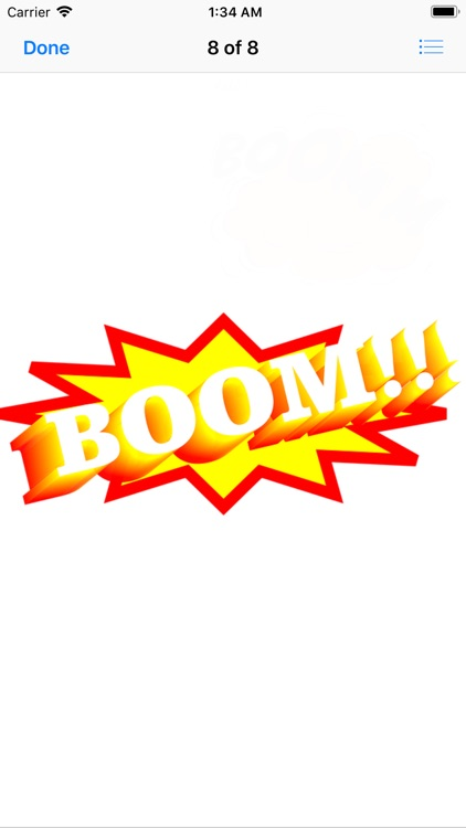 Zap Boom Pow Stickers screenshot-8