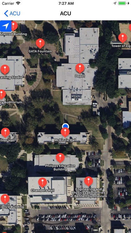 UVIEW: Campus Maps and Routing by UVIEW