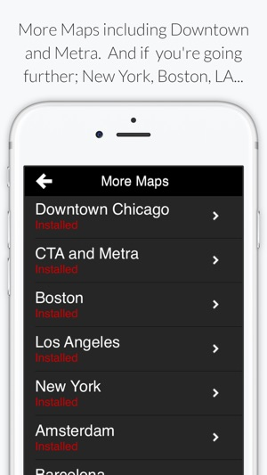 Chicago L Subway Map On The App Store