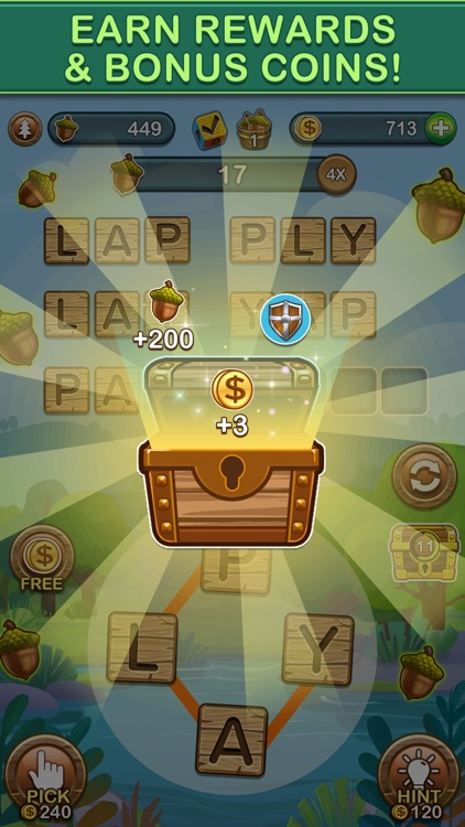 Word Forest: Word Games Puzzle screenshot-4