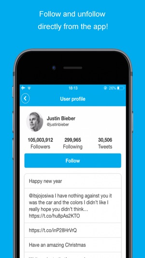 Find Unfollowers on Twitter on the App Store