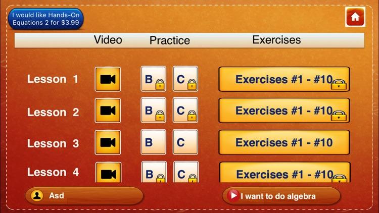 Hands-On Equations 1 screenshot-5