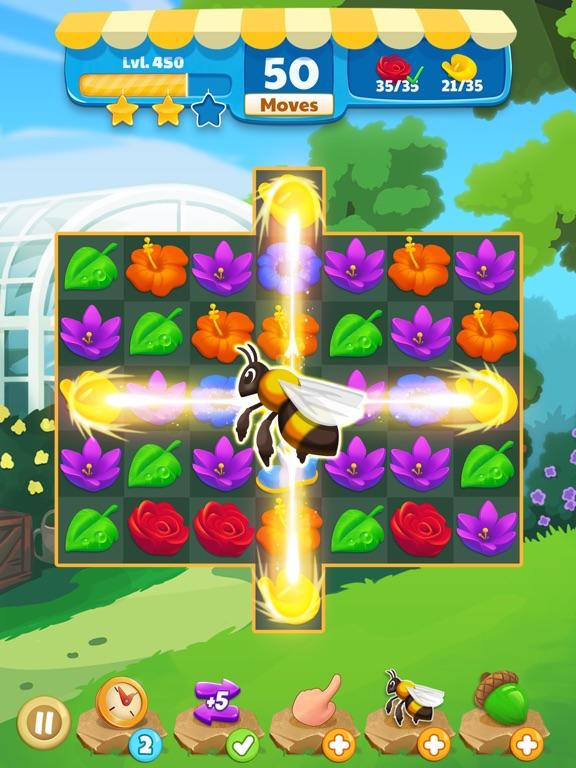Flower Legends Match 3 screenshot 9