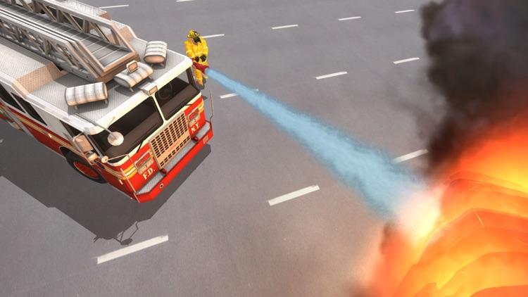 Fire Truck Game 911 Emergency screenshot-6