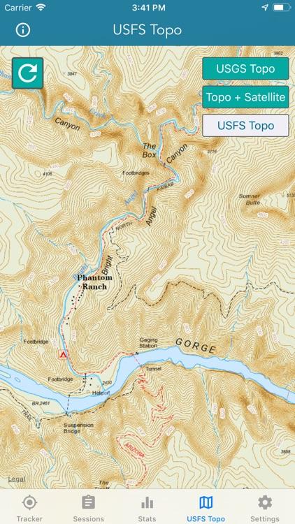 Topo Map & Hiking Tracker screenshot-9