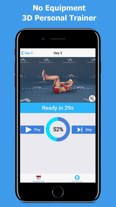 Lose Belly Fat - Abs Workoutのおすすめ画像6