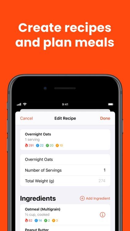 FoodNoms - Food Tracker screenshot-7
