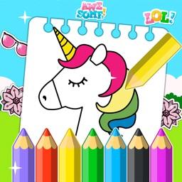 Unicorn Coloring Book 2020
