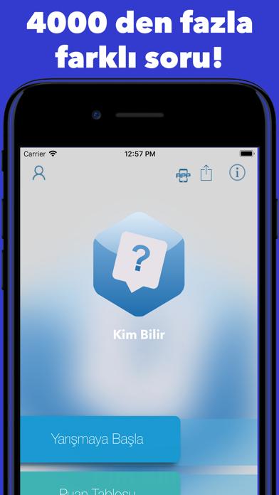 Kim Bilir - Knowledge quiz screenshot one