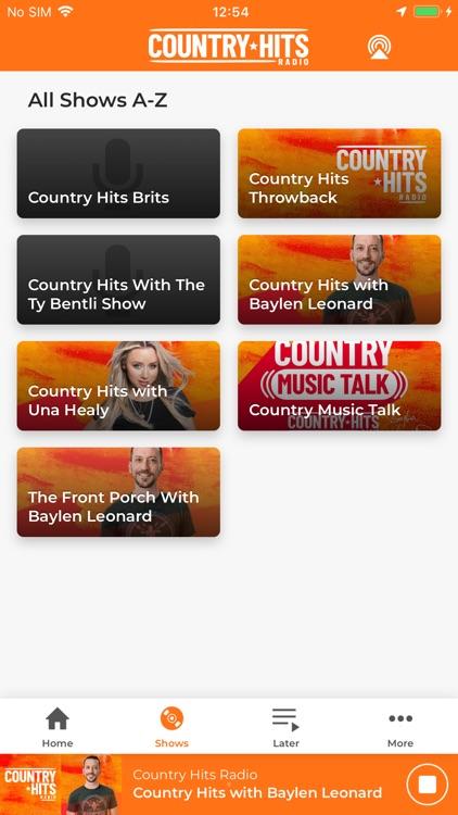 Country Hits Radio screenshot-3