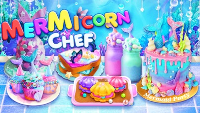 Screenshot for Unicorn Chef: Mermaid Cooking in United States App Store