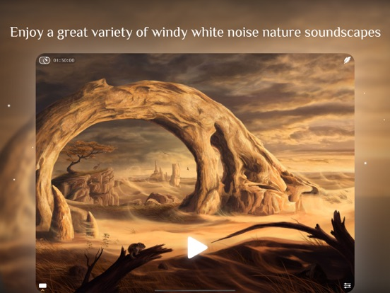 Windy White Noise Sleep Sounds Screenshots