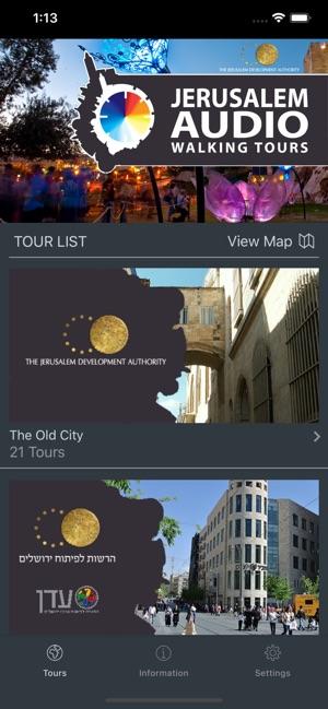 Audio Tours of Jerusalem on the App Store