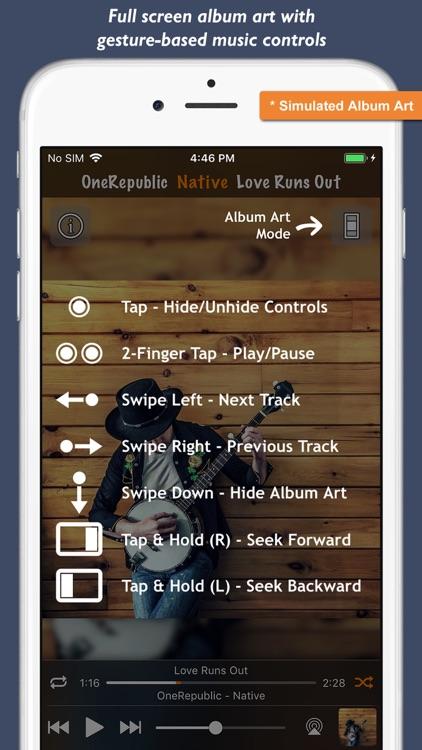Music Player - Platinum Album screenshot-7