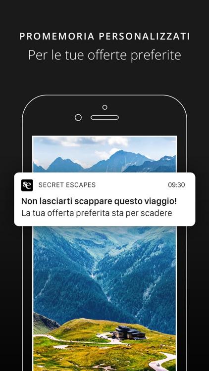 Secret Escapes: Hotel & Viaggi screenshot-4