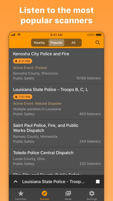 messages.download Police Scanner Radio & Fire software