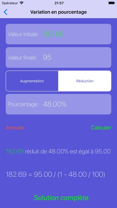 Télécharger Pourcentages Solver Pour Ipad Sur Lapp Store Education