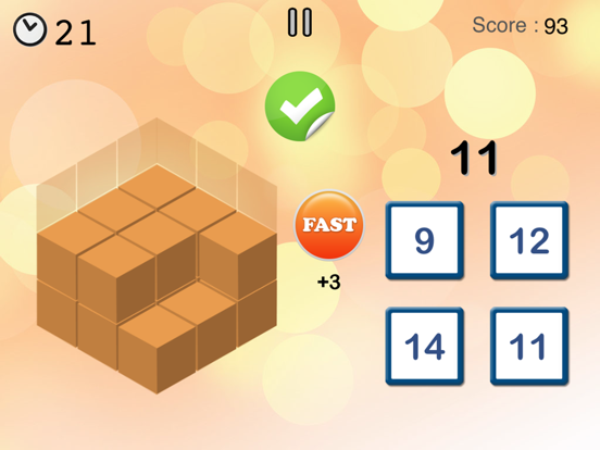 数学チャンピオン - お子様と大人向けの楽しいゲーム.のおすすめ画像3