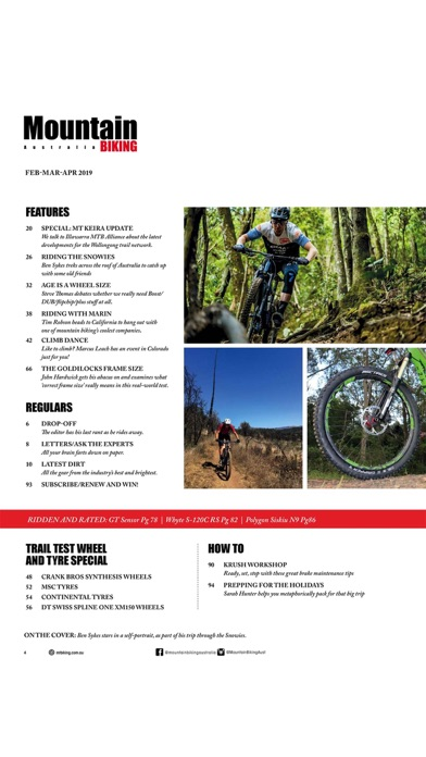Screenshot for Mountain Biking Australia in Estonia App Store