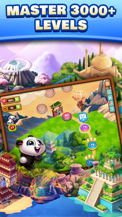 Panda Pop! Blast the Bubbles Screenshot