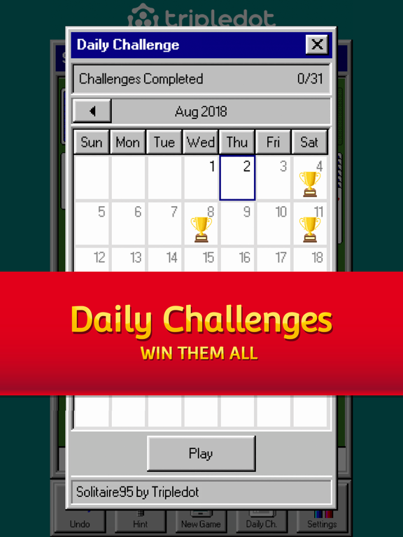 Solitaire 95: The Classic Game screenshot 6