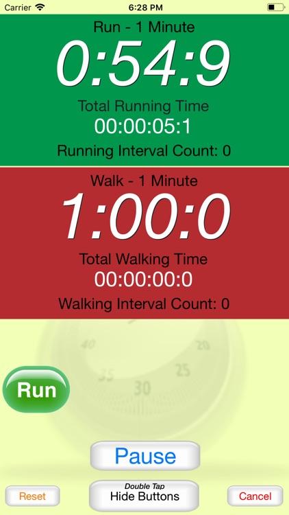 Running Interval Timer