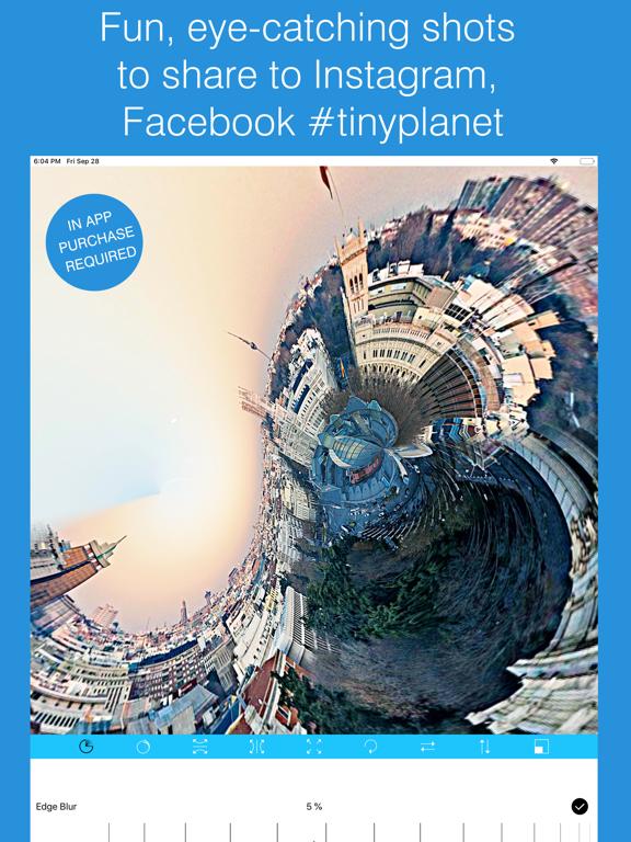 Tiny Planet Photos and Video Screenshots