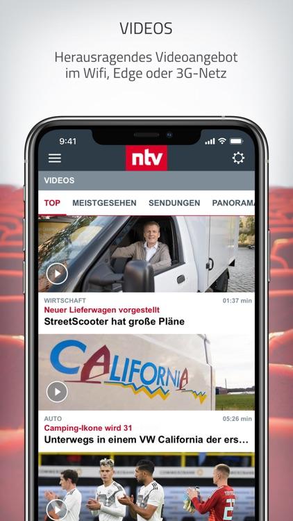 ntv Nachrichten screenshot-5
