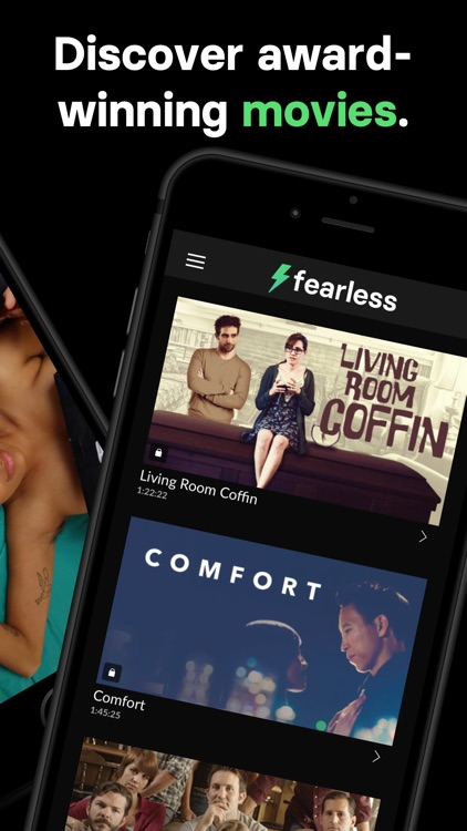 Fearless - Movies + Shows