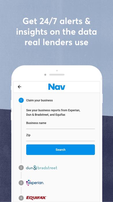 Nav: Business Credit & Finance