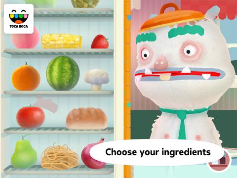 Screenshot of Toca Kitchen 2