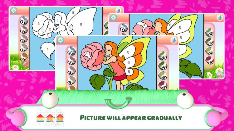 Fairies Coloring Book + screenshot-4