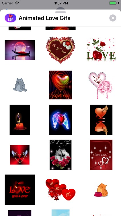 Animated Love Gifs screenshot-8