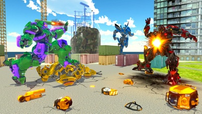 Incredible Monster Robot War screenshot one