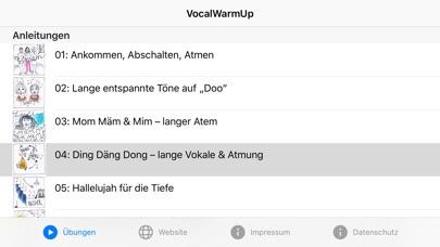 VocalWarmUp app image