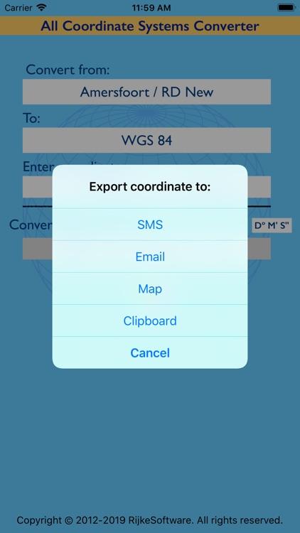 Coordinate Systems Converter screenshot-3