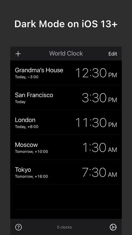 World Clock Widgets screenshot-5