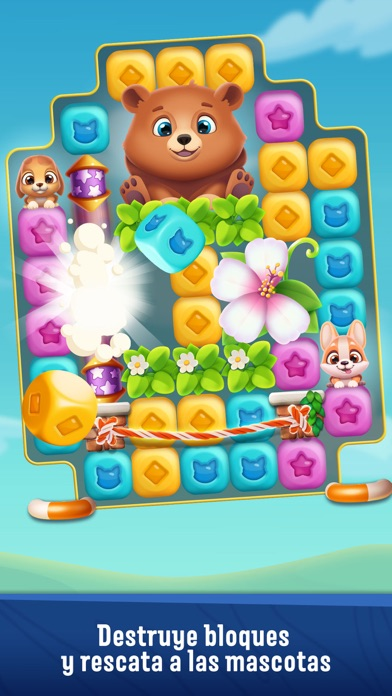 Screenshot for Pet Rescue Puzzle Saga in Colombia App Store