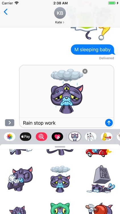 Psy Cat Stickers screenshot-4