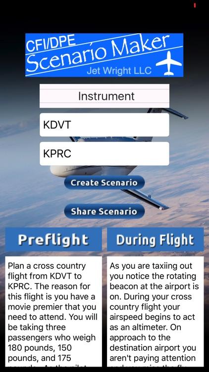 CFI DPE Scenario Maker screenshot-3