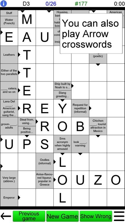 Crossword Unlimited +