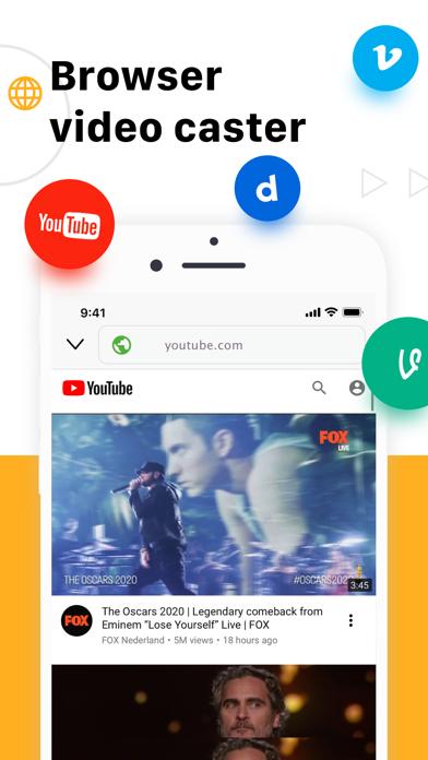 TV Cast for Chromecast TV App Screenshot