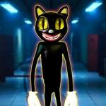Scary Cartoon Cat Horror Town