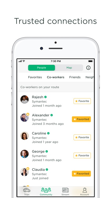 Scoop - Carpool w/ Co-Workers screenshot-3