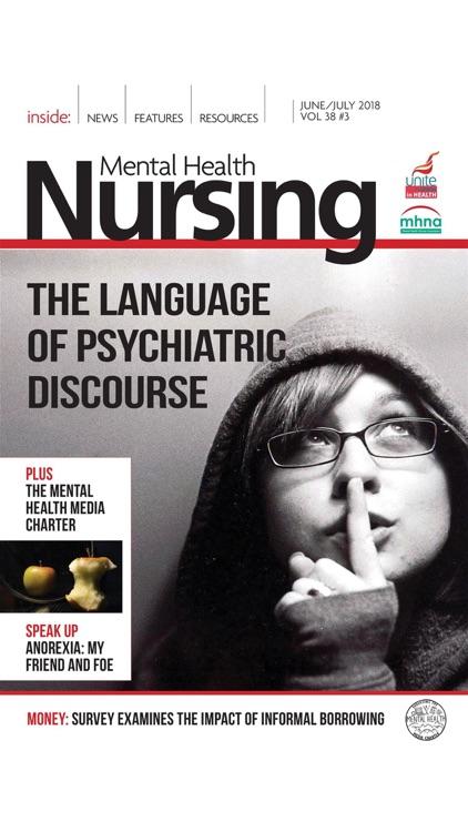 Mental Health Nursing Journal screenshot-4